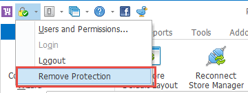 Access Management - remove protection command\