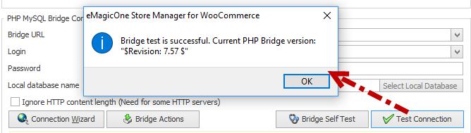 Bridge Test Connection