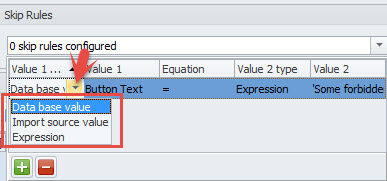 Type Value Column