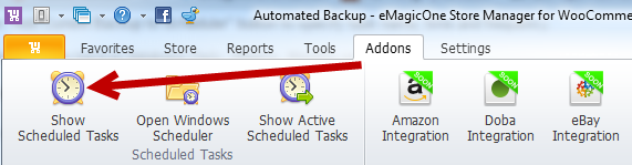 Show scheduled tasks