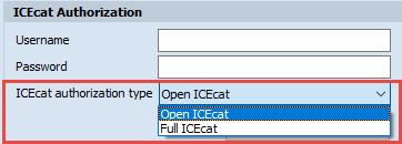 ICecat authorization types