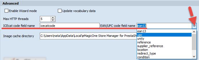 EAN/UPC code