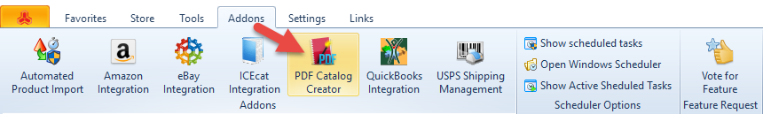 PDF Creator Catalog section