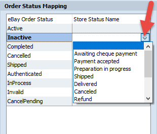 Order Status Mapping