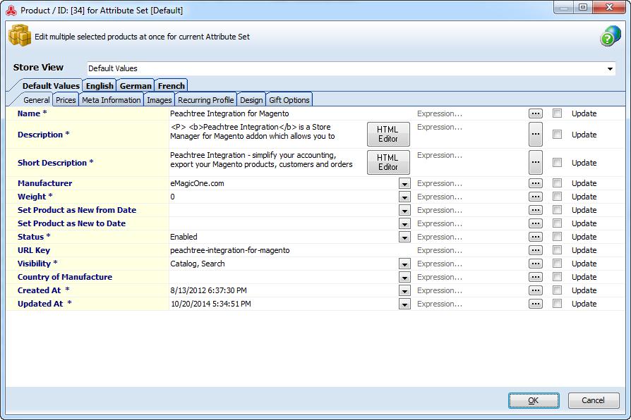 Multi Editor form