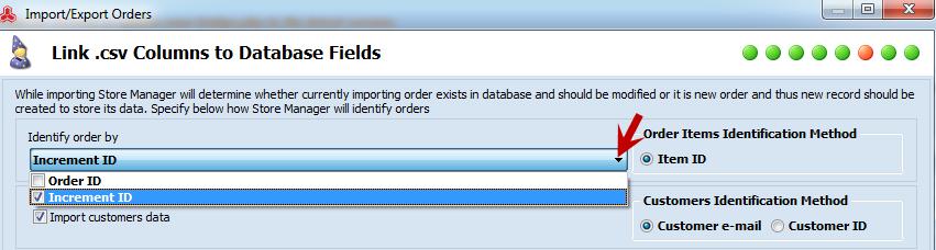 Identifier order by..