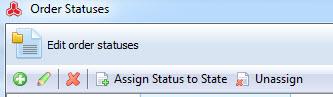 order status toolbar