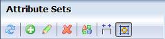 Attribute sets toolbar