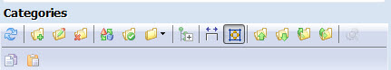 categories top toolbar