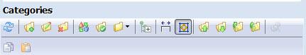 categories top toolbar