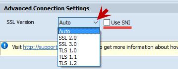 SSL versions