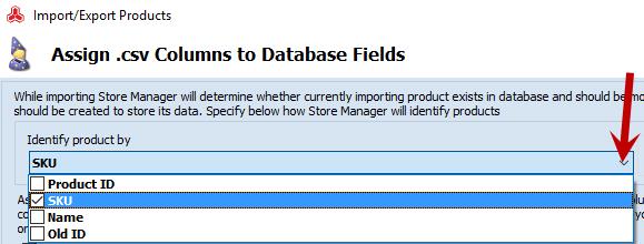 Import identifier