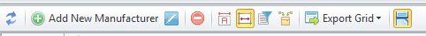 Manufacturers toolbar