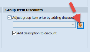 Group Item Discount