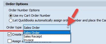 Order type list