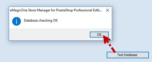 Database checking OK