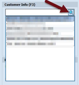 Customer infor