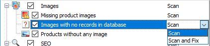 Images with no records in database