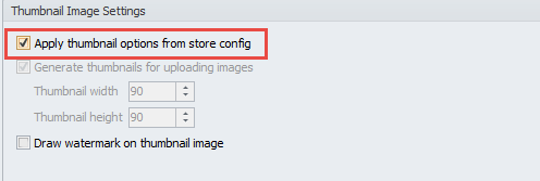 Apply thumbnail options from store config