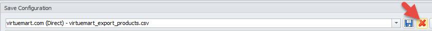 Option to delete configuration