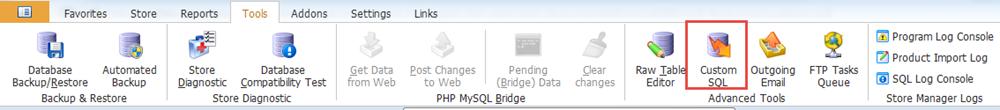 Custom SQL