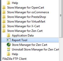 Report tool